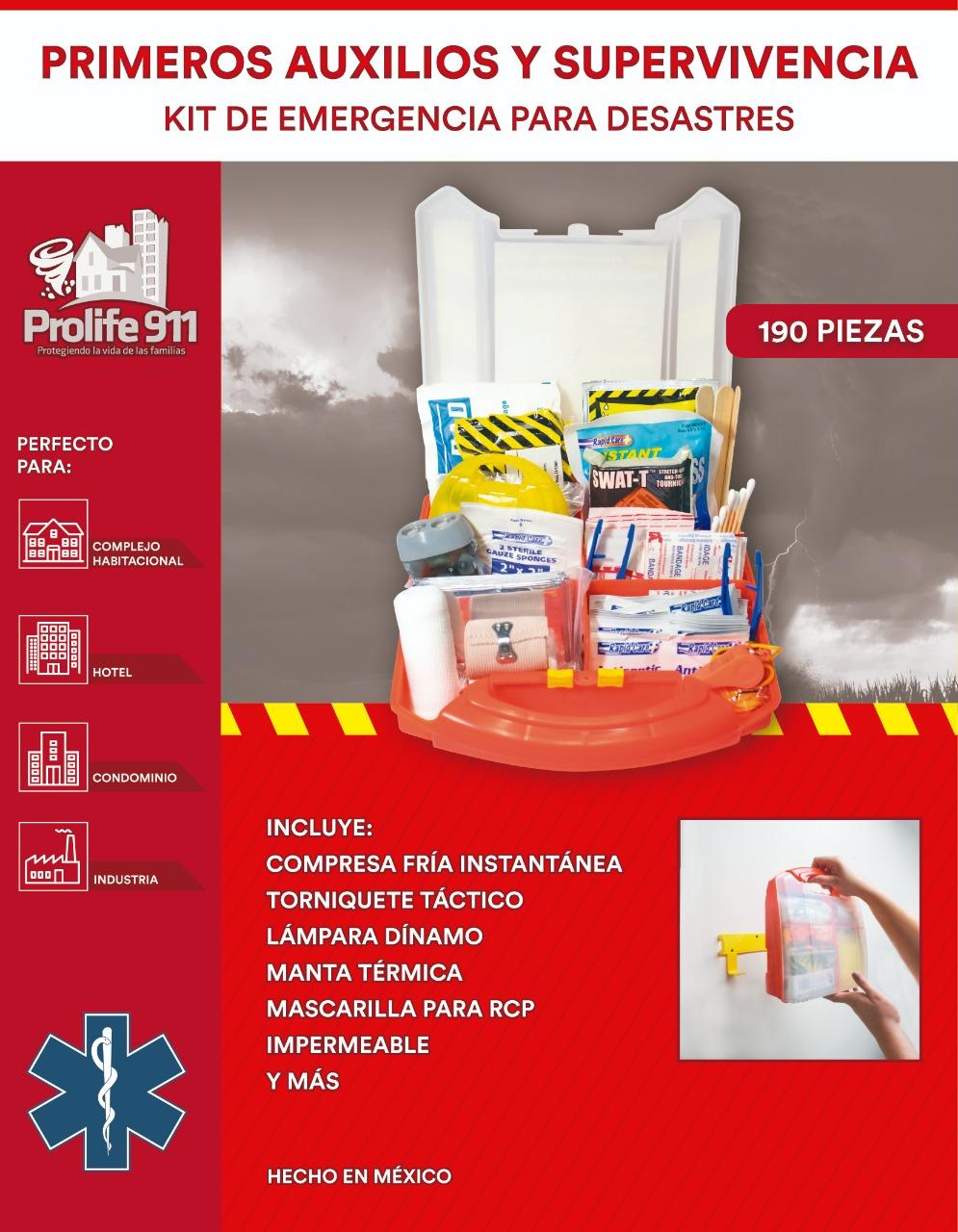 Kit de Emergencias para Hoteles - Caja de 12